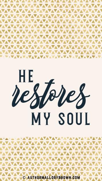 Psalm 23.3